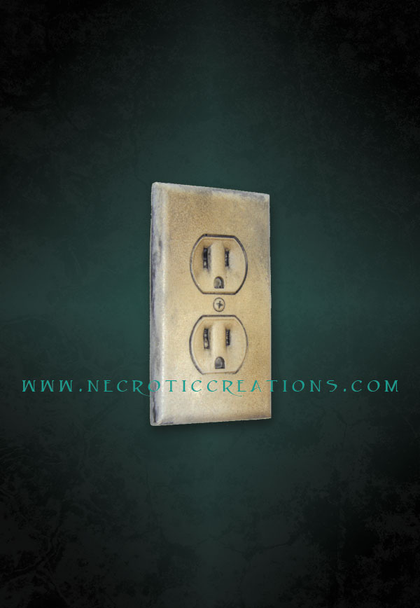Electrical Outlet Plates Necrotic Creations