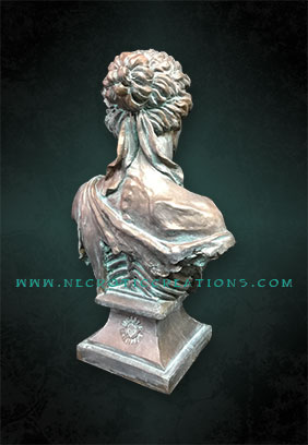 nyx bust bronze back